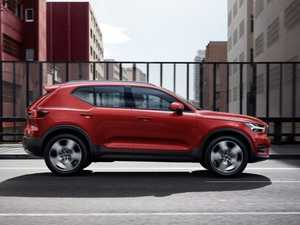 New XC40 is Volvo's first compact SUV